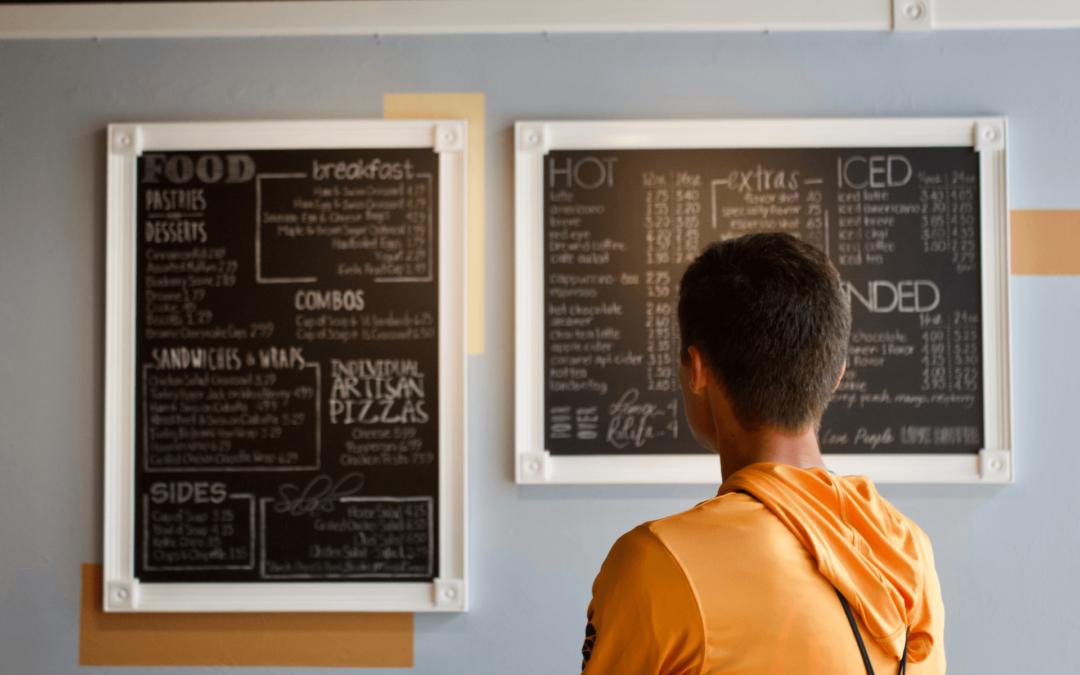 Créer un QR code pour afficher un menu de restaurant avec Unitagqr